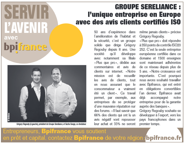 article BPIFRANCE