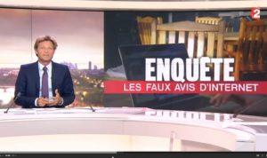 Les faux avis clients au JT de France 2