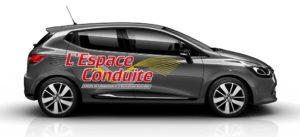 voiture espace conduite