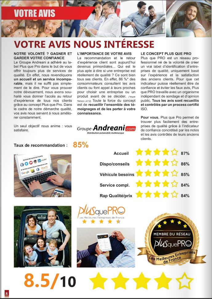 magazine groupe andreani