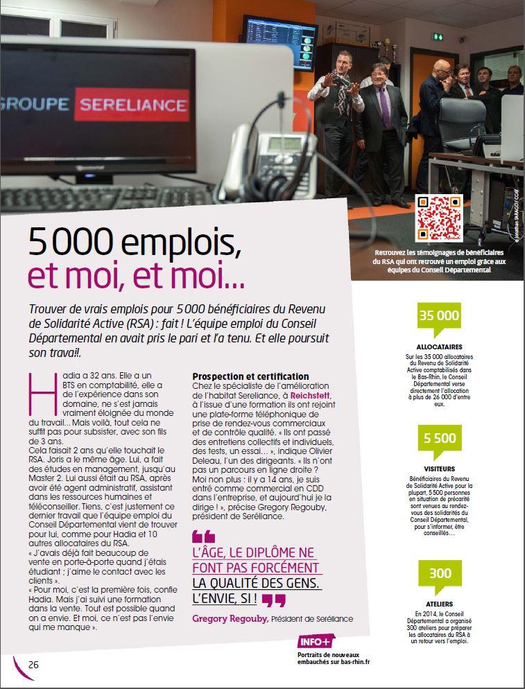 article magazine Tout le Bas-Rhin
