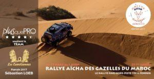 Plus que PRO partenaire du Rallye Aïcha des Gazelles