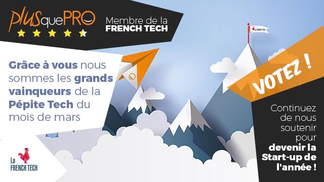 Votez pour la start up de l'année avec French Tech