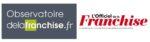 Logos L'Officiel de la Franchise et l'Observatoire de la Franchise