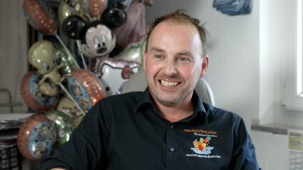 M. Thabouret, dirigeant de La Trappe à Ballons