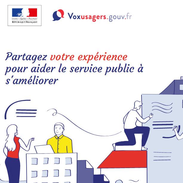 Voxusagers.gouv.fr : les services de l'Etat Français ont aussi droit à leur système de notation de satisfaction des usagers