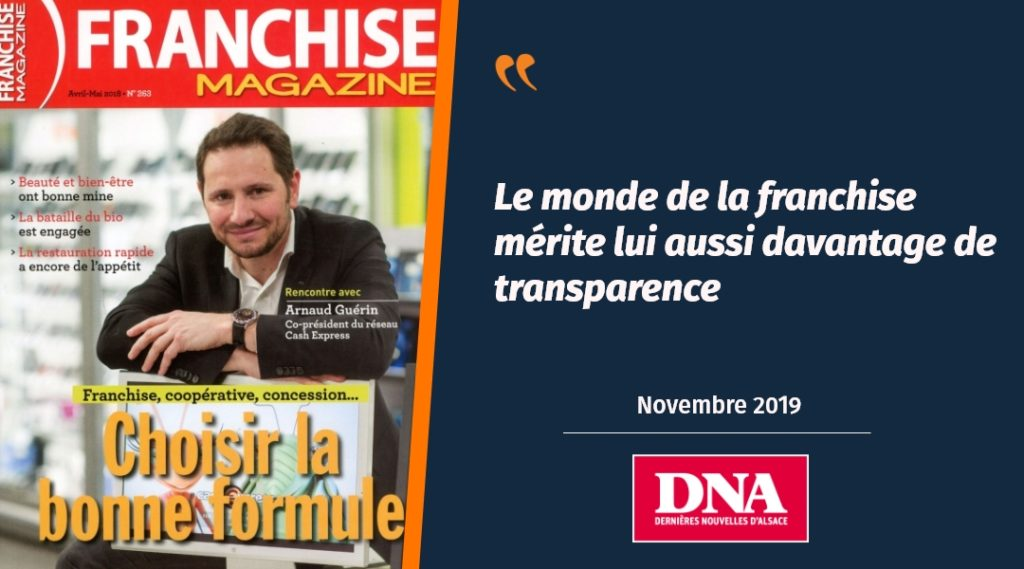 Les DNA évoquent le rachat de Franchise Magazine par Plus que PRO