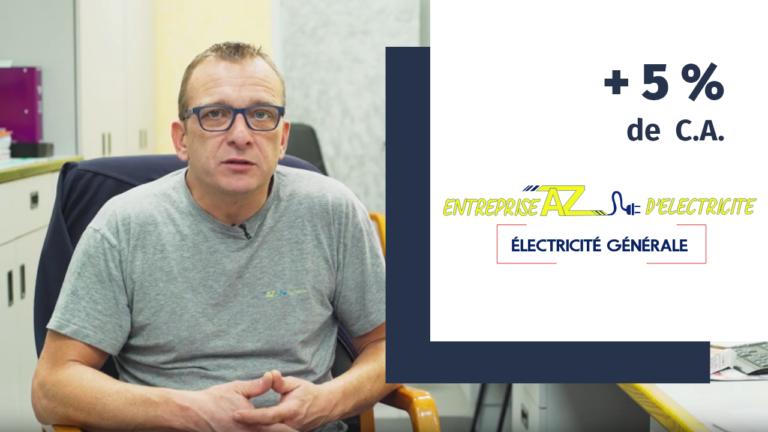 Adhérent Plus que PRO : Électricité AZ renouvelle sa confiance (2019)