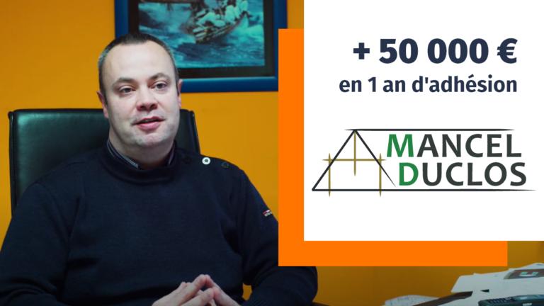 Adhérent Plus que PRO : Mancel Duclos renouvelle sa confiance (2020)