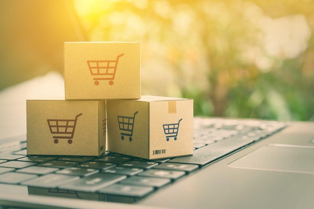 cartons de livraison achats sur internet