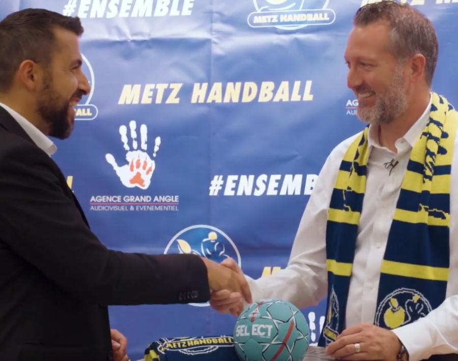Partenaire 57 et Metz Handball - YouTube